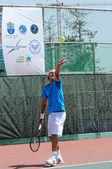 International tennis europe tournament — Stock Photo