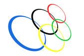 Olimpiyat halkaları — Stok Vektör