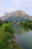Austrian village — Stock Photo