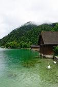 Irrsee  lake — Stock Photo
