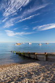 Selsey Bill West Sussex — Stock Photo