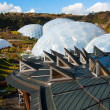 Stock Photo: Eden Project Cornwall