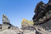 Hemmick Beach Cornwall — Stock Photo