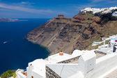 Firostefani Santorini Greece — Stock Photo