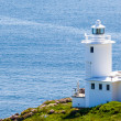 Tater Du Lighthouse Cornwall — Stock Photo