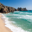Stock Photo: Pedn Vounder Beach Cornwall