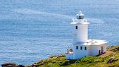 Tater Du Lighthouse Cornwall — Stock Photo