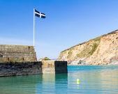 Polkerris Cornwall — 图库照片
