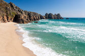 Pedn Vounder Beach Cornwall — Stock Photo