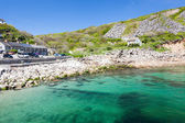Lamorna Cove Cornwall — Stock Photo