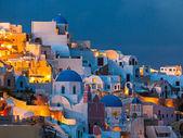 Oia santorini řecko — Stock fotografie