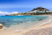 Lindos grécia — Fotografia Stock
