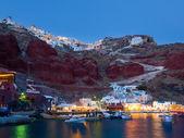 Ammoudi Bay Oia Santorini — Stock Photo