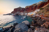 Ammoudi Bay Oia Santorini — Stock Photo