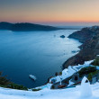 Oia Sunset Santorini — Stock Photo