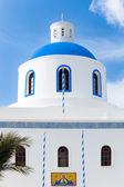 Igreja santorini oia — Foto Stock