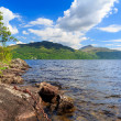Inveruglas on Loch Lomond Scotland — Stock Photo
