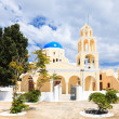 St George Church Oia Santorini Greec — Stock Photo