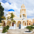 Stock Photo: St George Church OiSantorini Greec