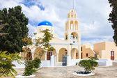 St george igreja oia santorini greec — Foto Stock