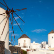 Greece Windmills — Stock Photo