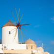 Greece Windmills — Foto de Stock