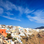 Oia Santorini Greece — Stock Photo