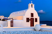 Small Greek Church Oia Santorini — Stock Photo