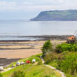 Stock Photo: Robin Hood's Bay Yorkshire England