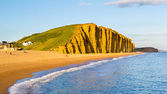 West Bay Dorset England — Stock Photo