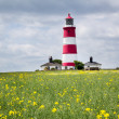 Happisburgh Lighthouse Norfolk — Stock Photo