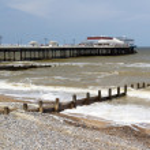 Cromer Pier Norfolk England UK — Stock Photo