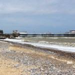 Cromer Beach and Pier Norfolk England UK — Stock Photo