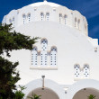 Stock Photo: Orthodox MetropolitCathedral FirSantorini Greece