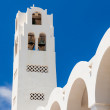 Orthodox Metropolitan Cathedral Fira — Stock Photo
