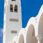 Orthodox Metropolitan Cathedral Fira — Stock Photo #31740125