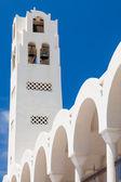Orthodox Metropolitan Cathedral Fira — Stock Photo