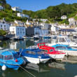 Stock Photo: Polperro Harbour Cornwall England