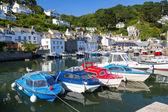 Polperro Harbour Cornwall England — Stock Photo