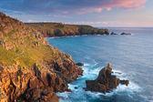 Irish Lady at Sennen Cove Cornwall England UK — Stock Photo