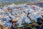 麦克诺斯岛圣托里尼岛希腊 — 图库照片