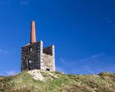 Cornish Mining Engine House — Stock Photo