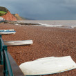 Sidmouth Beach Devon England — Stock Photo #36133967