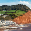 Sidmouth Beach Devon England — Stock Photo #36133987