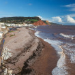 Sidmouth Beach Devon England — Stock Photo #36133999