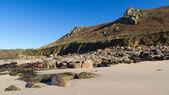 Whitesands Bay Sennen Cove Cornwall — Stock Photo