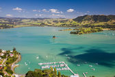 Whangaroa Harbour from St Paul Rock, North Island, New Zealand — Stock Photo