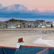 Dusk overlooking St Ives Cornwall — Stock Photo