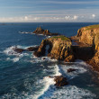 Scenery at Land End Cornwall England — Stock Photo