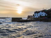 Porthleven Sunset — Stock Photo